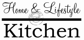 Keukensticker Home & Lifestyle