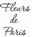 Decoratiesticker Fleurs de Paris