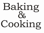 Keukensticker Baking & Cooking