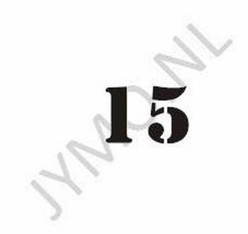 Huisnummer 2 cijfers en evt. letter