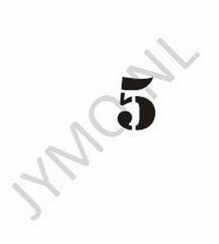 Huisnummer 1 cijfer en evt letter