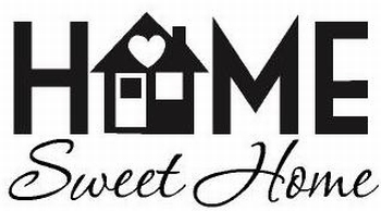 Labelsticker home sweet home