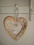 Houten Decoratie hart