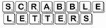 Scrabble letter 10x10 cm