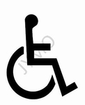 Symbool Handicap