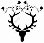 Interieursticker Deer