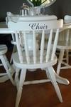 Meubelsticker Chair