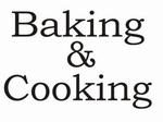 Keukensticker Baking & Cooking